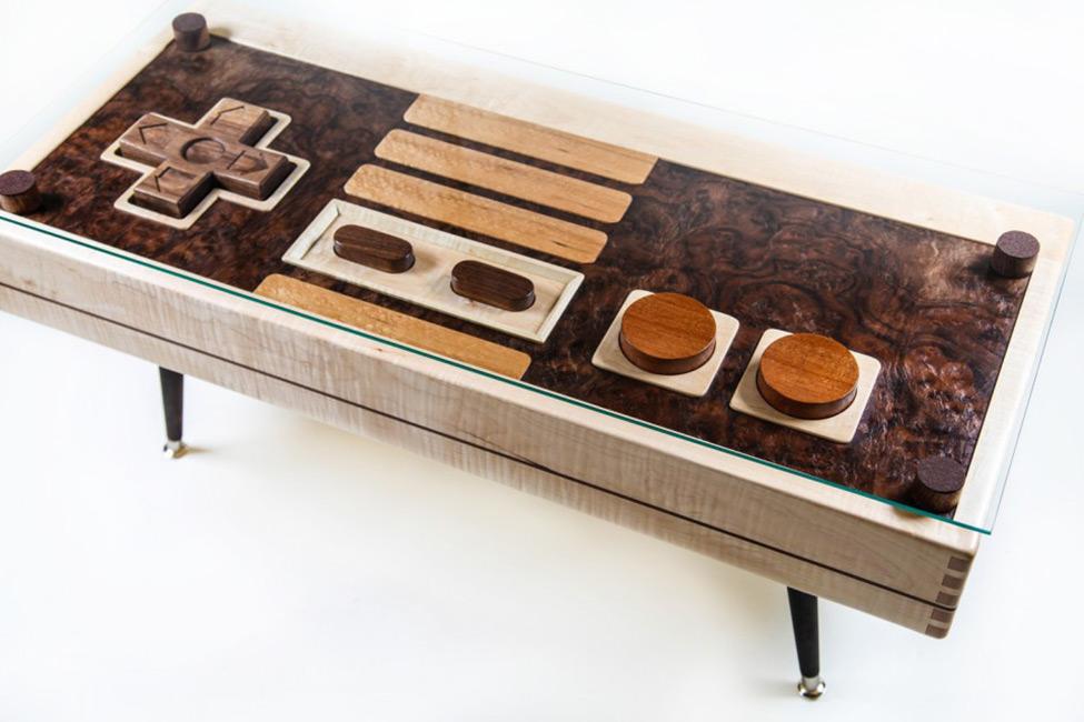 Controller Coffee Table.Nintendo Controller Coffee Table Bespokebug