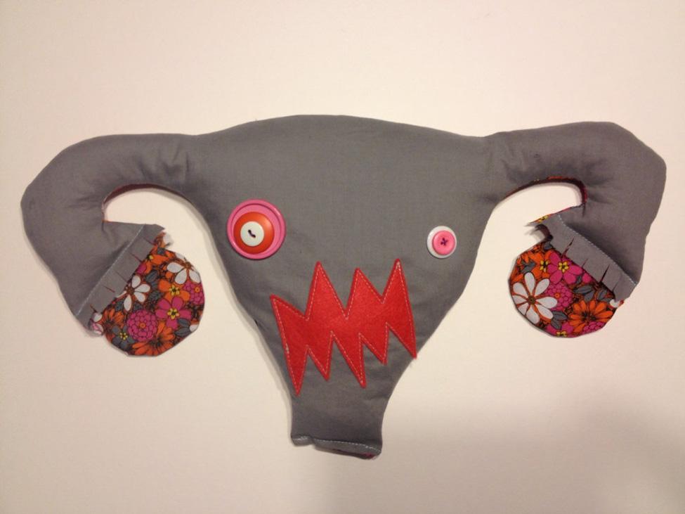 Angry Uterus Heating Pad Bespokebug