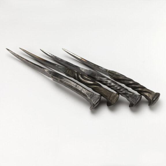 Railroad Spike Knife Bespokebug