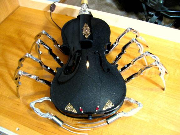 Steampunk Scorpion Light Bespokebug