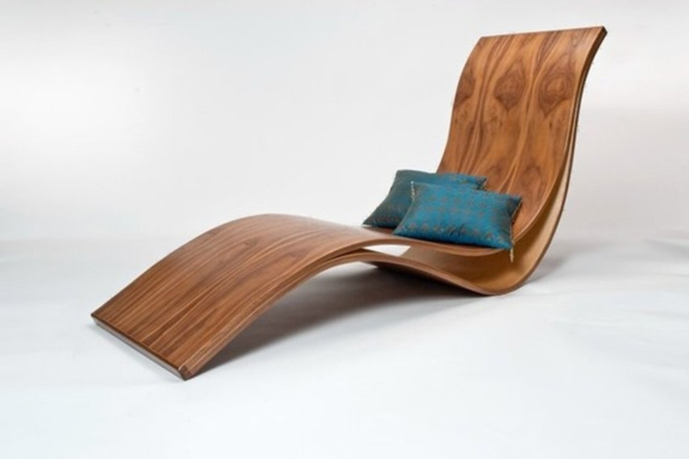 Wooden Wave Chair Bespokebug