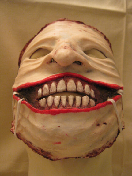 Severed Face Clown Mask Bespokebug