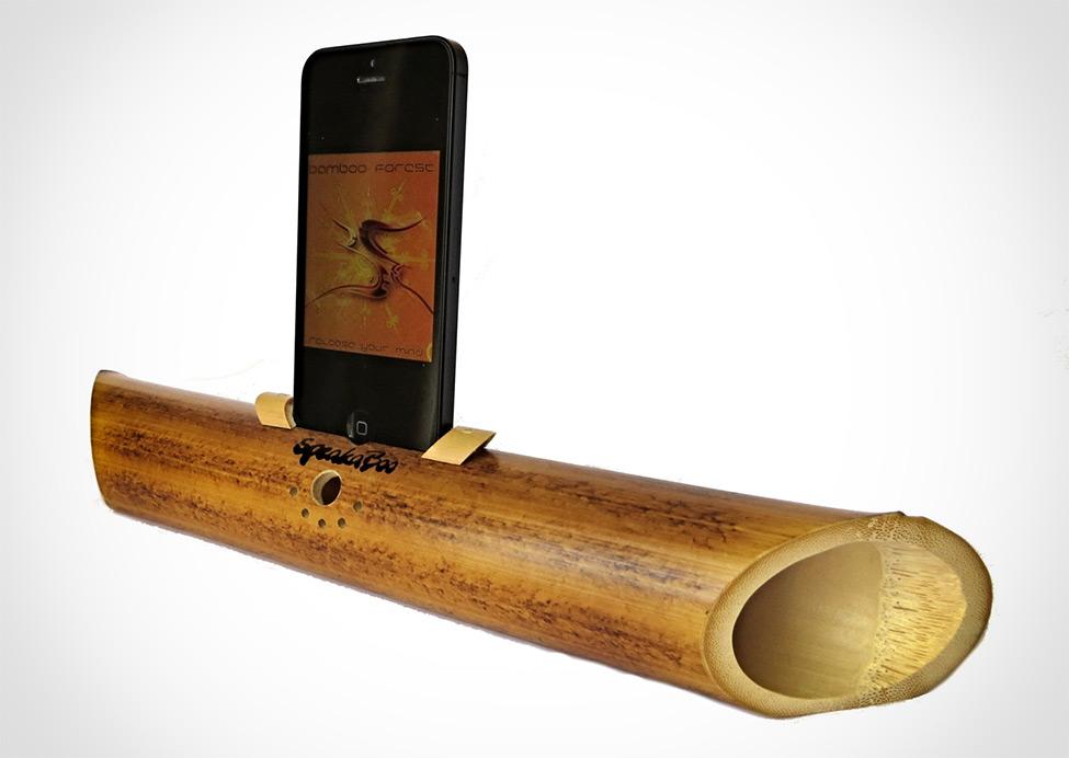 Passive Bamboo Amplifier Bespokebug