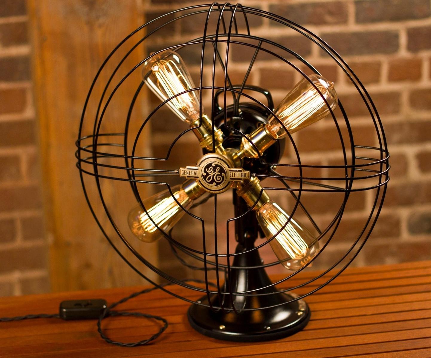 Vintage Fan Lamp | BespokeBug