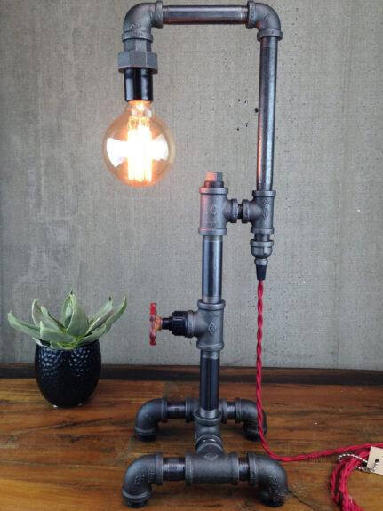 Industrial Pipe Lamp Bespokebug