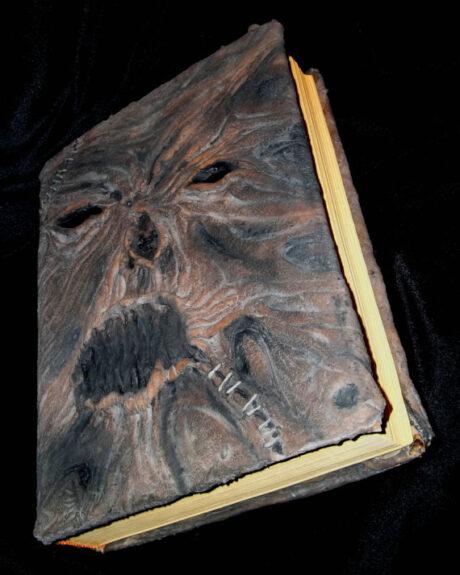 Necronomicon Book Cover Bespokebug